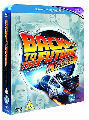 Back to the Future Trilogy - 30th Ann. (Blu-ray, 4 Discs, Region Free) *NEW*