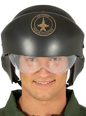 Plastic Green Army Man Halloween Costume (Mens Ladies Aviator Fighter Pilot Air Force TV Film Fancy Dress Costume)
