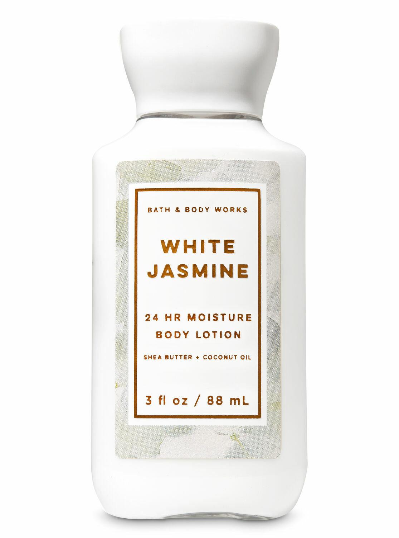 White Jasmine NEW TRAVEL Body Lotion 3 Oz Bath Body Works SHIPS FREE  - $10.00