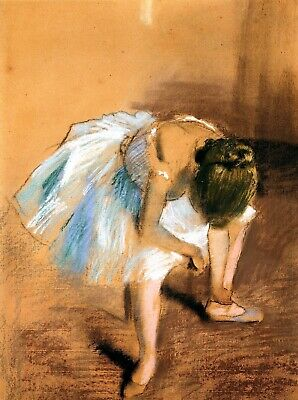 Decor Poster.Home interior art design.Room decoration.Degas ballerina.6923