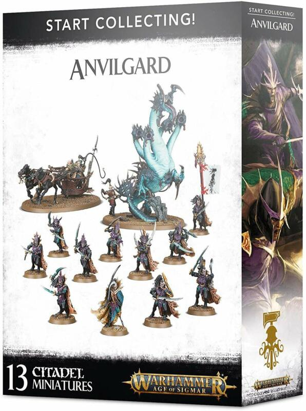 Games Workshop Warhammer Age of Sigmar Start Collecting Anvilgard 70-62