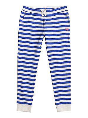 Roxy Girls Downtown Mission Stripe Sweatpants Royal Blue Pan