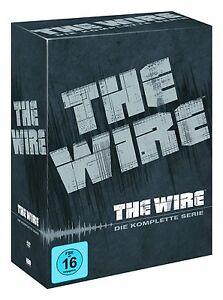 THE WIRE 1-5 DIE KOMPLETTE DVD STAFFEL / SEASON 1 2 3 4 5 KOMPLETTBOX  DEUTSCH