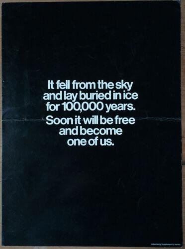 THE THING, John Carpenter, 1982, Pressbook Brochure 554