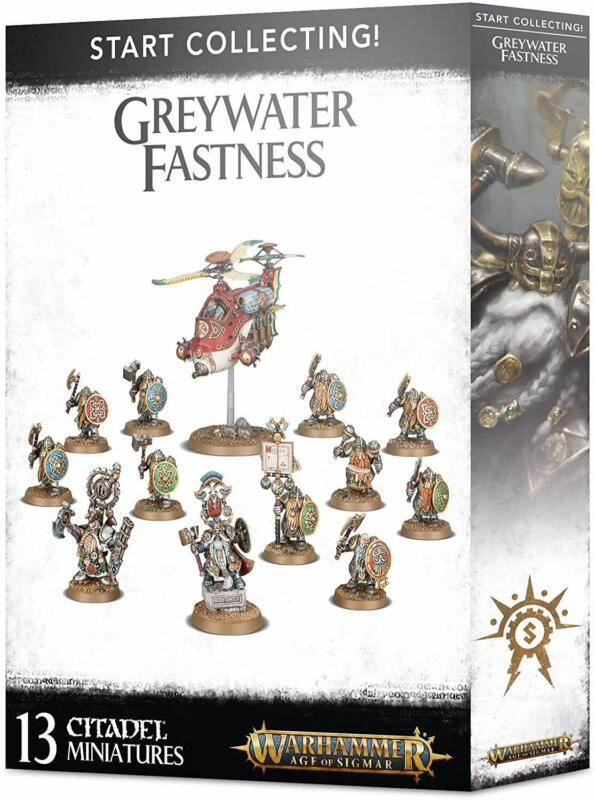 Warhammer Age of Sigmar Start Collecting Greywater Fastness 70-71