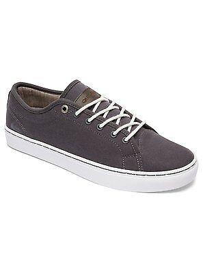 Neu Quiksilver Cove Canvas Herren Sneakers Turnschuhe grey white grau Gr.