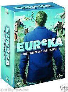 ❏ A Town Called Eureka Series 1 - 5 DVD + BONUS EXTRAs Complete Seasons ❏ 2 3 4