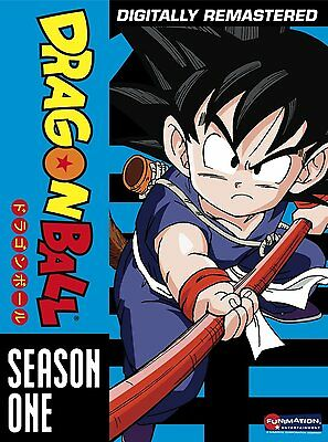 Dragon Ball DVD Complete Series 1st First Season 1 One TV DB Anime Animated Goku