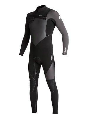 QUIKSILVER Men's 4/3 HIGHLINE+ CZ Wetsuit - XKKK - Medium - NWT