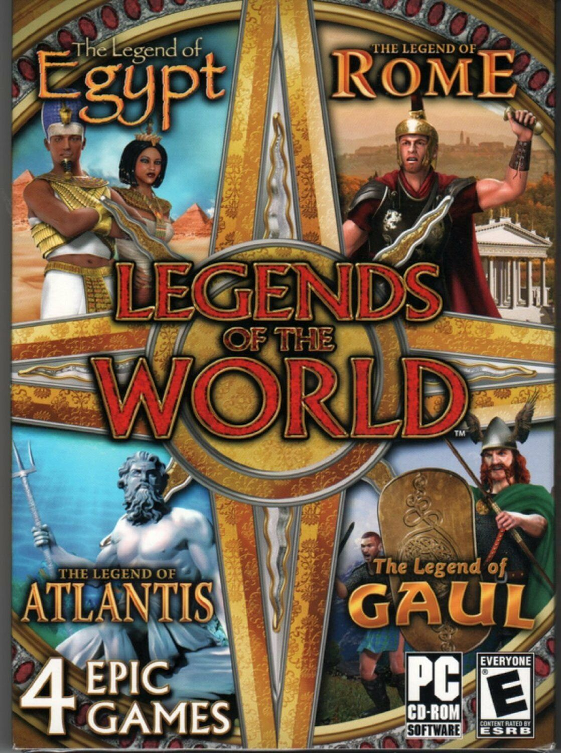 Computer Games - Legends Of The World PC Games Windows 10 8 7 XP Computer gem match three 3 NEW