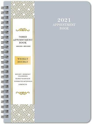 2021 Planner Monthly Weekly Daily Organizer Calendar Schedule Appointment Book