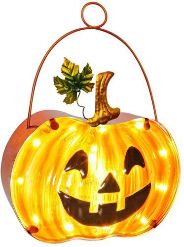 Halloween Pumpkin Lamp, Fall Décor Pumpkin Lantern with Timer, Hanging lamp