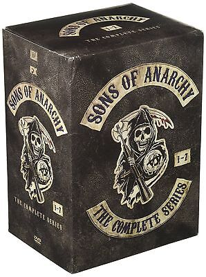 Sons Of Anarchy  The Complete Series  Seasons 1 7  Dvd  2015  New