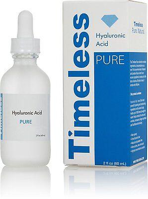 Timeless Hyaluronic Acid Serum 100  Pure 2 Oz  60 Ml   Free Shipping