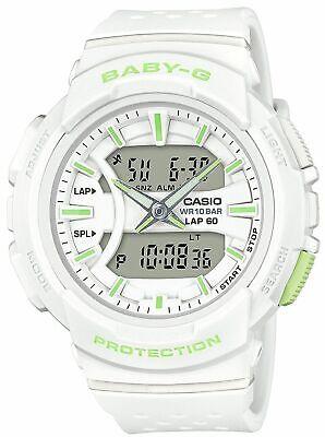 NEW Casio Women's BGA240-7A2 Baby-G Ana/Digital Urban Runner Watch