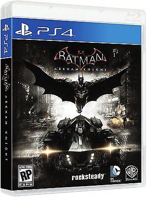 $22.55 - Batman: Arkham Knight - PlayStation 4 Brand New Ps4 Games Sony Factory Sealed