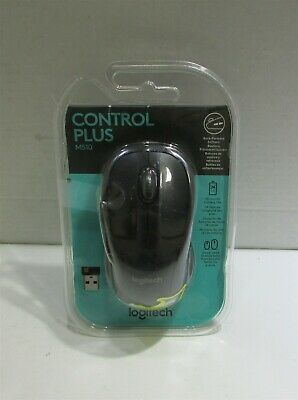 Logitech M510 Wireless Laser Mouse Includes USB Receiver & Batteries