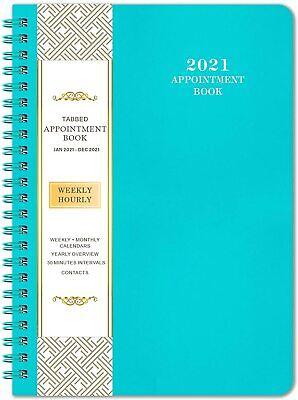 2021 Appointment Book Planner Organizer Weeklymonthly Calendar Agenda Schedule