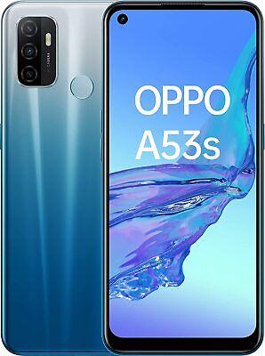 "Cellulare Smartphone OPPO A53s Dual Sim 128GB+4GB RAM 6.5"" Blue"