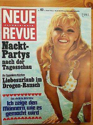 Neue Illustrierte  Revue  40 - 4. Oktober 1970 neuwertige Zeitschrift