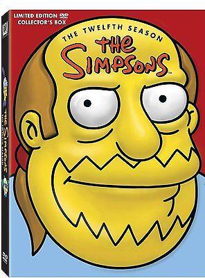 LES SIMPSON - SAISON 12 - Tête de Jeff Albertson -4 DVD ( Collector- limitée)