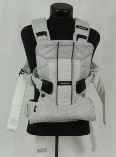 babybjorn baby carrier one air mesh gray