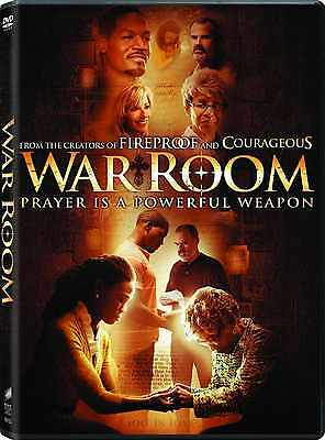 SEALED - War Room DVD NEW 2015 Alex Kendrick Family Films ! BRAND NEW