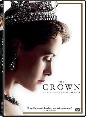 The Crown  Season 1 Netflix  Queen Elizabeth Ii  Claire Foy  2017  4 Disc Set