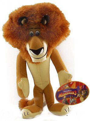 "Madagascar 3 ALEX the LION Large 15"" Licensed Plush Stuffed Animal .NEW."