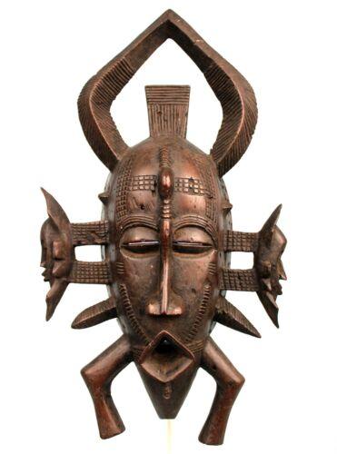 Art African - Large Mask Kpélié Senoufo - Huge Senufo Mask - 44,5 CMS