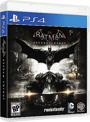 $22.83 - Batman Arkham Knight Scarecrow Sony PlayStation 4 Brand New Sealed PS4 Games New
