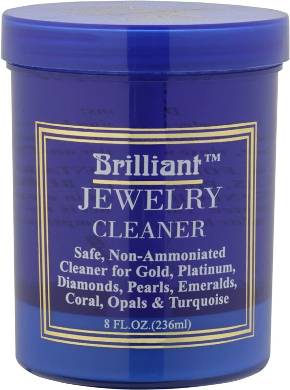 8oz safe jewelry cleaner w cleaning basket