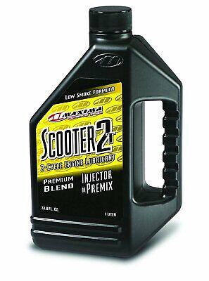 Maxima Scooter 2T 2-Stroke Premix/Injector Oil 1 Liter 26901 2 Stroke Scooter Oil