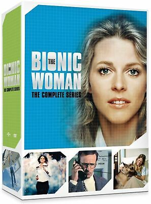 The Bionic Woman: The Complete Collection Series DVD Gift Box Set 14 Disc - NEW