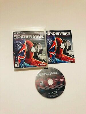 PS3 Spider-man Shattered Dimension PS3