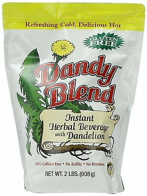 Dude Blend, Instant Herbal Beverage with Dandelion, 2 lb. Bag, New