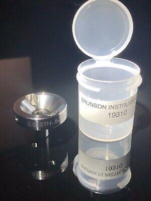 Brunson 0.875 Drift Nest For Laser Trackers 0.875th-.5-.25