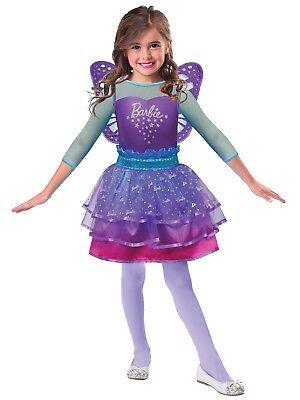 Mädchen Offiziell Barbie Pretty Ombre Fee Prinzessin Maskenkostüm 3 - 10 - Barbie Fee Kostüm Mädchen