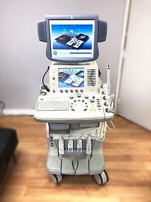 Ge Logiq 7 3d Ultrasound Machine E8c M12l Be9c L7 Probes Available