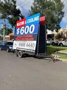 Tandem Signage Trailer Melbourne Region Preview