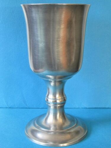 PEWTER CHALICE: THOMAS BOARDMAN (UNMARKED; POSITIVE ATTRIBUTION)