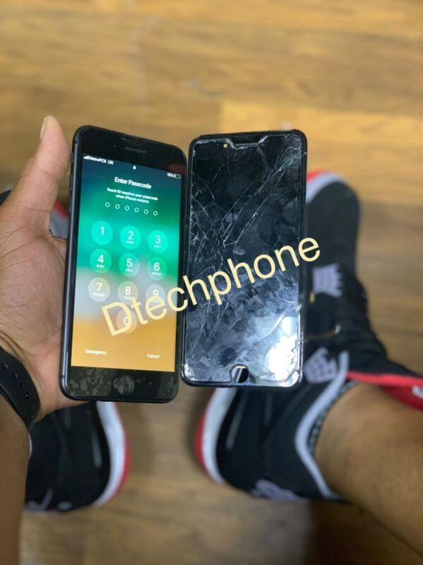 iPhone 7 Plus ,8 Plus  LCD Digitizer screen mail in Replacement Repair Service