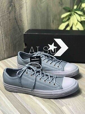 Sneakers Men's Converse Chuck Taylor All Star Leather Low Top Cool Grey