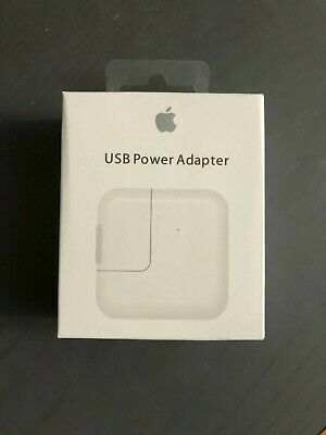 ORIGINAL Genuine 12W USB Power Adapter Wall Charger for Apple iPad 2 3 4 Air OEM