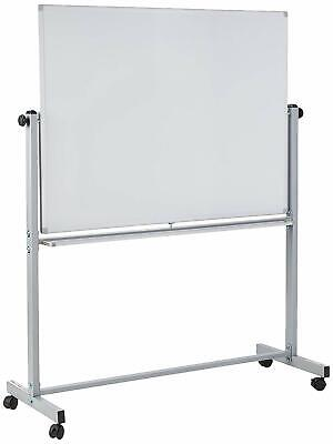 Offex Whiteboards 48w X 36h Double Sided Dry Erase Magnetic Whiteboard