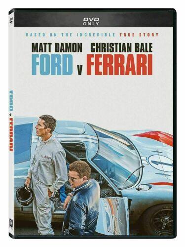 Ford Vs Ferrari (DVD, 2020) BRAND NEW - USPS FREE SHIPPING