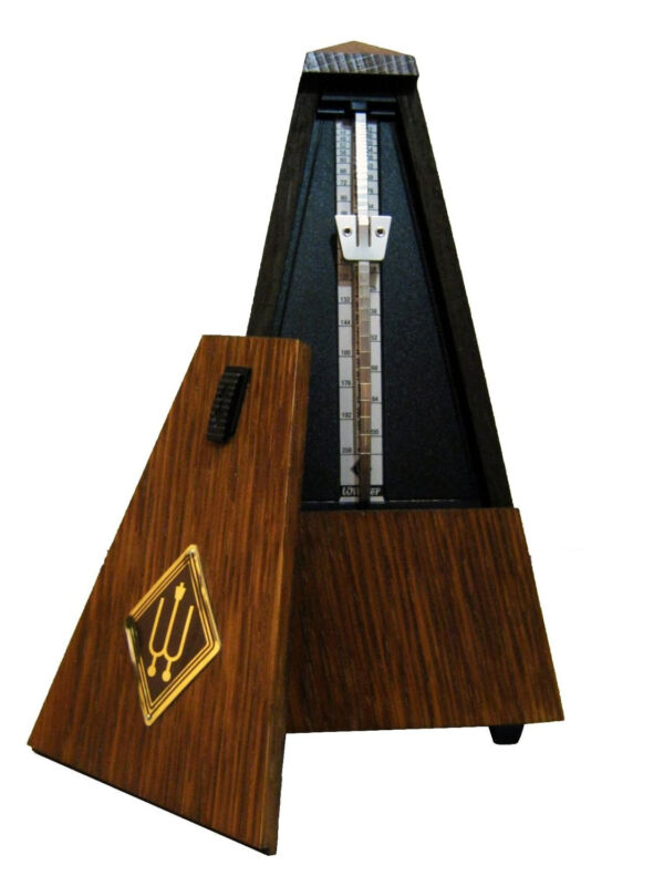 Wittner 811M Bell Wood Key Wound Metronome Mahogany  Free Extended Warranty