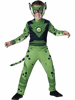 Incharacter Wild Kratts Cheetah Green Standard Boys Halloween Costume 141705 (Cheetah Costumes For Boys)