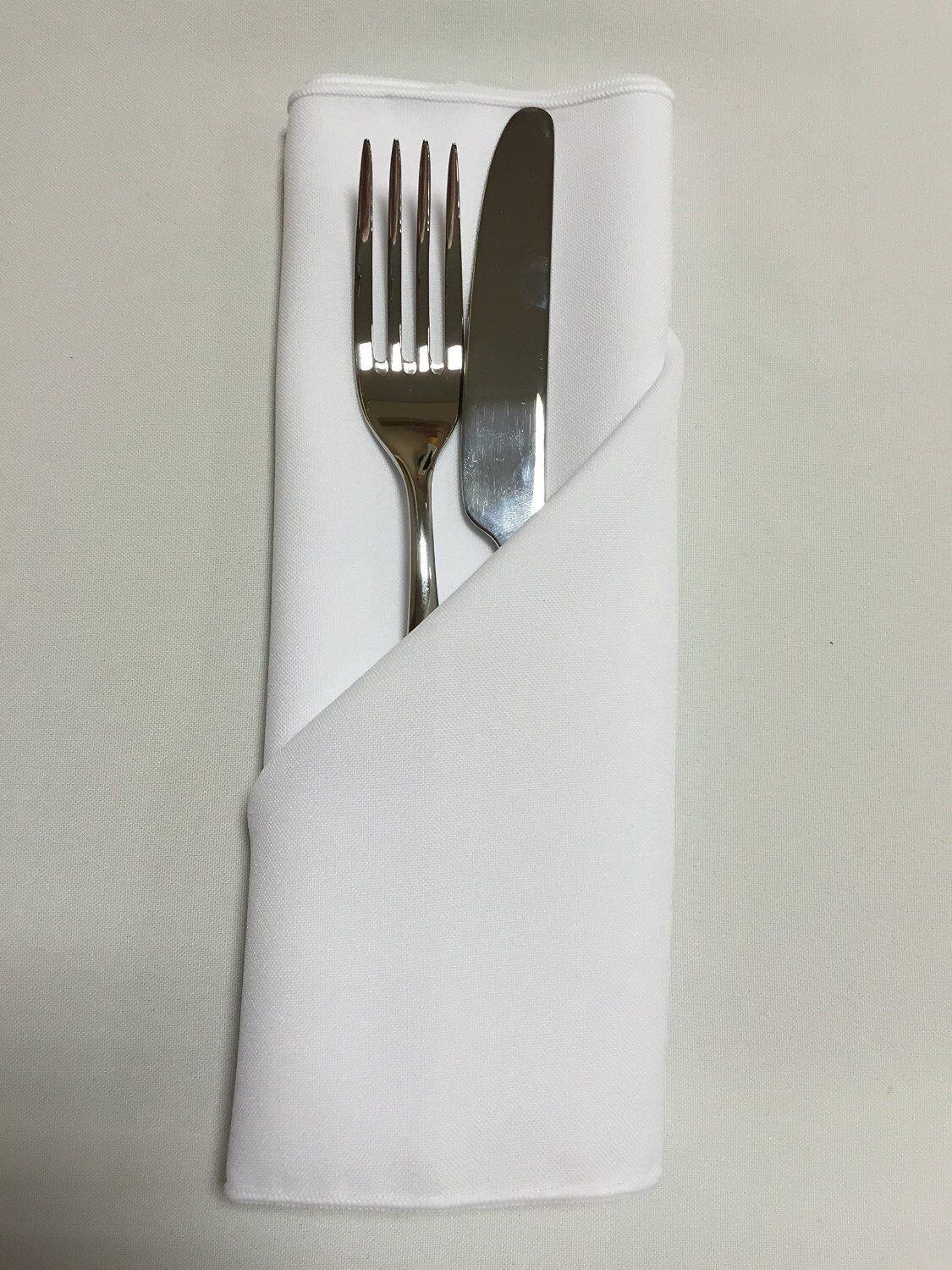 Plain Fabric Napkins (Made from polyester not cotton) Kitchen  Wedding Party