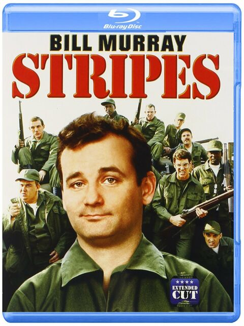 STRIPES : Extended Cut (Bill Murray)  -  Blu Ray - Sealed Region free